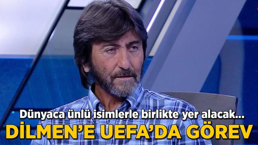 Rıdvan Dilmen'e UEFA'da önemli görev