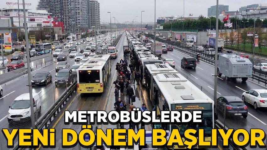 Metrobüslere erken uyarı sistemi geliyor