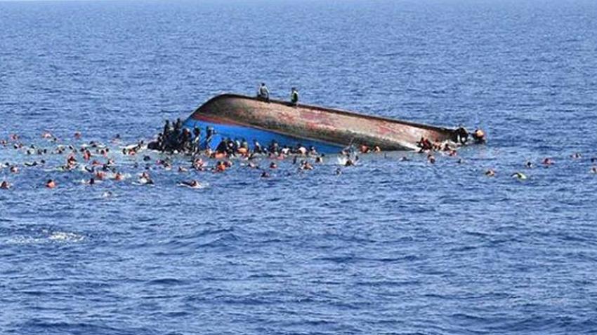 Akdeniz'de göçmenleri taşıyan tekne battı: 13 ölü
