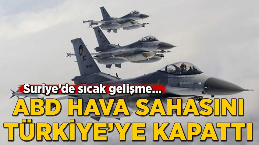 Pentagon Sözcüsü: Türkiye, Suriye'de hava görev emrinden çıkarıldı