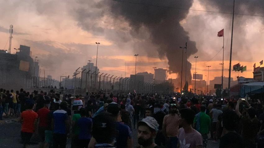 Irak'ta kanlı gece: 8 ölü, 25 yaralı