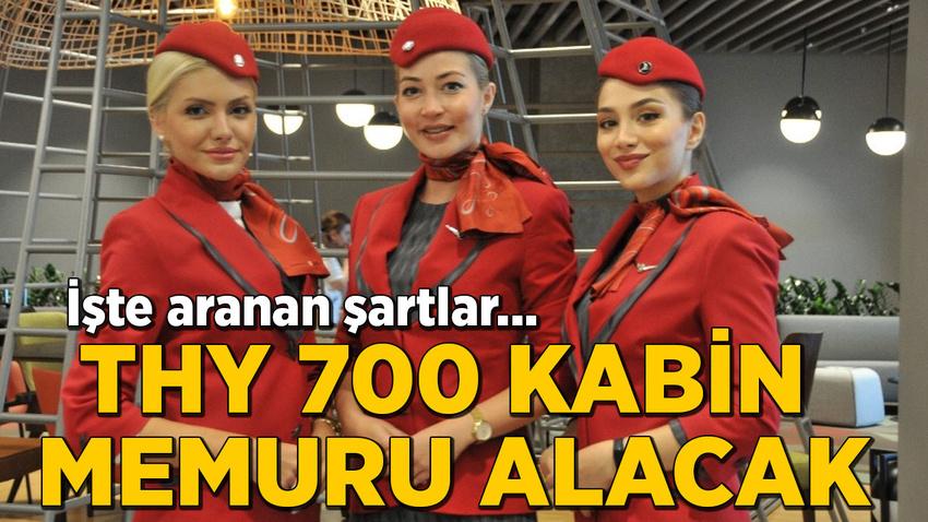 THY, 700 bayan kabin memuru alacak