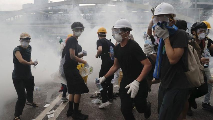 'Çin ordusu Hong Kong'a girebilir'