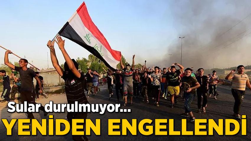 Irak'ta internet erişimi yeniden kesildi!