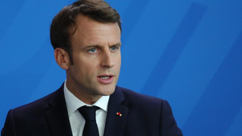 Fransa Cumhurbaşkanı Macron'dab YPG'nin sözcüsüyle skandal görüşme