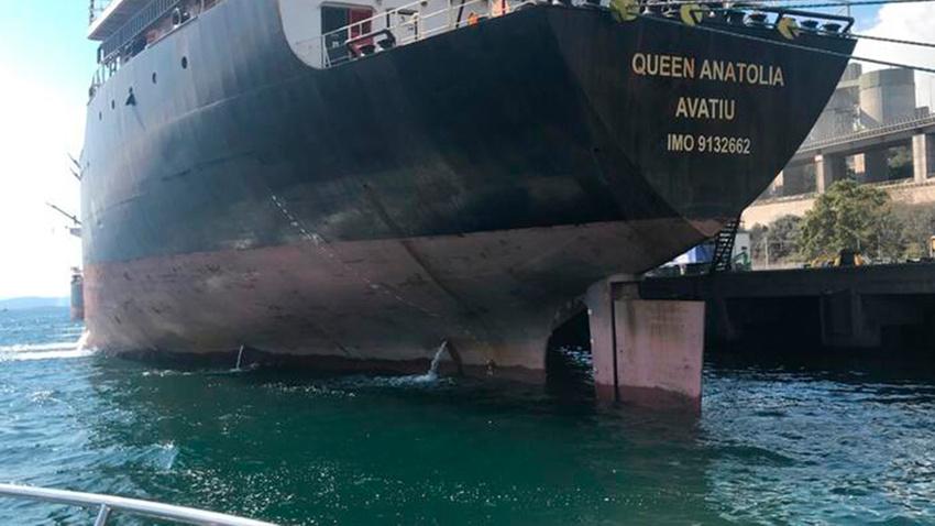 İzmit Körfezi'ni kirleten gemiye 1 milyon 772 bin lira ceza