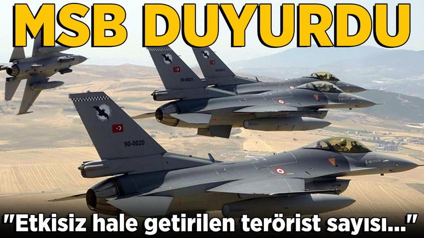 MSB: Barış Pınarı Harekatı'nda öldürülen terörist sayısı ...