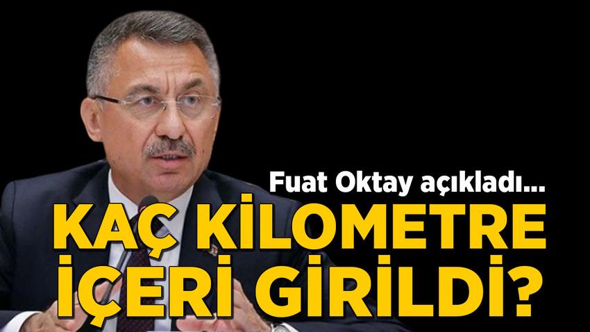 Cumhurbaşkanı Yardımcısı Oktay'dan harekat açıklaması