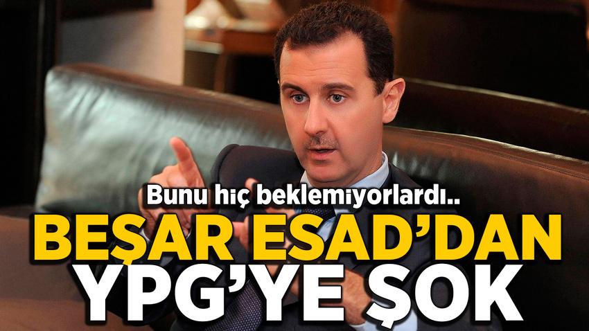 Esad'dan YPG'ye şok: Görüşmeyeceğini açıkladı