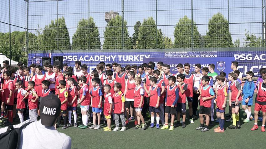 PSG, Türkiye'deki 7. akademisini açtı
