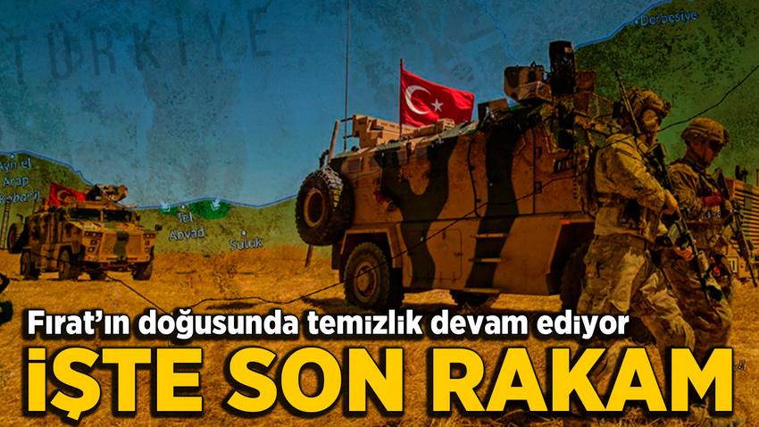 Barış Pınarı Harekatı'nda 415 terörist etkisiz hale getirildi