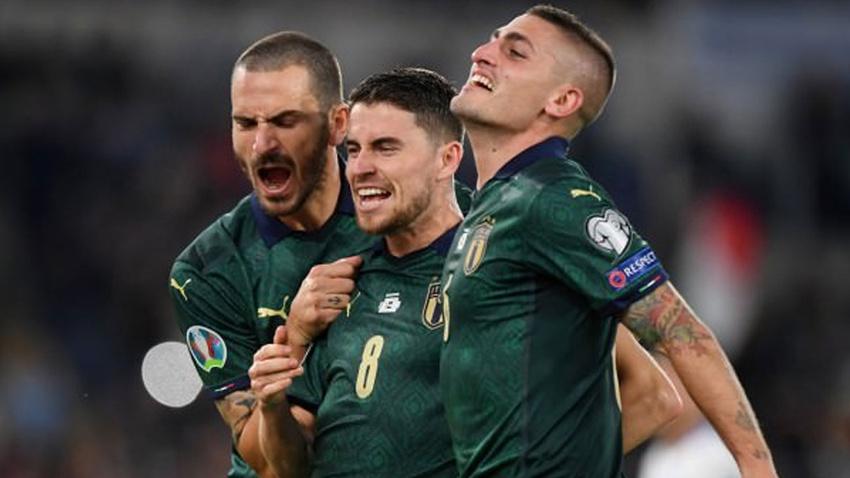 7'de 7 yapan İtalya EURO 2020 biletini aldı