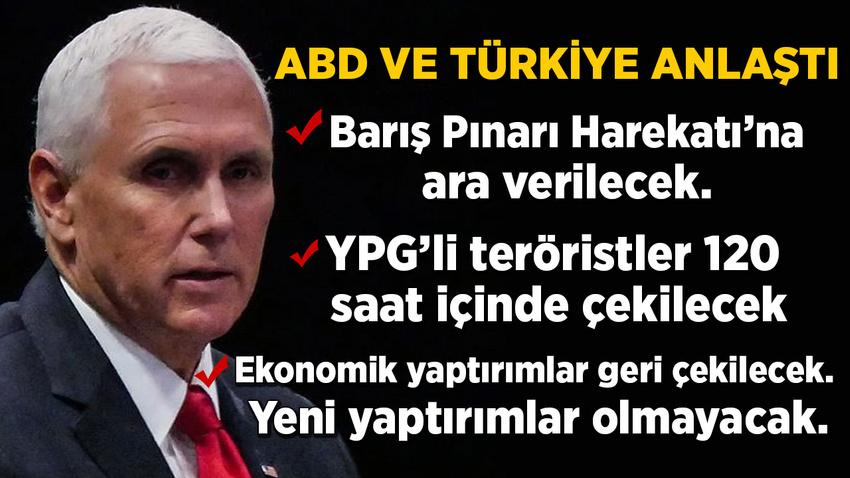 ABD ve Türkiye anlaştı