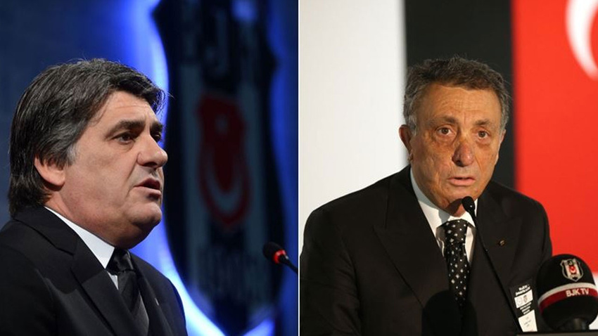 Beşiktaş başkan adayları Adalı ve Çebi yönetim kurulu listesini tanıttı