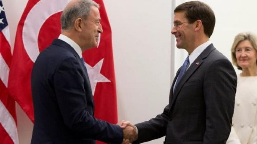 Milli Savunma Bakanı Akar, ABD'li mevkidaşıyla telefonda görüştü