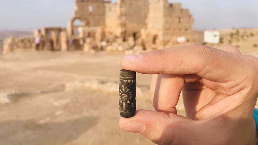 3 bin yıllık 'Asur mührü' kazılarda ortaya çıktı