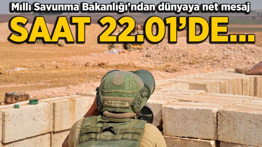 MSB: 22.00'den sonra karşılaşılan teröristler etkisiz hale getirilir