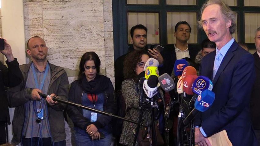 Suriye Anayasa Komitesi toplantılarının ilk bölümü sona erdi