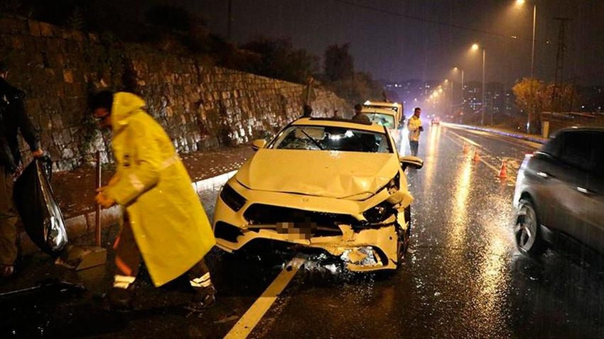 MHP Kayseri İl Başkanı trafik kazasında yaralandı