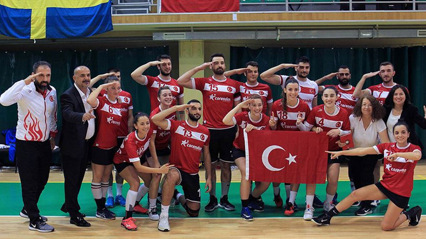 Türk Korfbol Takımı 2020 Avrupa Şampiyonası'nda