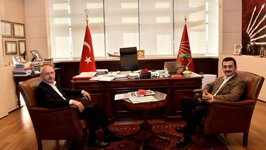 CHP Lideri Kılıçdaroğlu, Eren Erdem ile görüştü