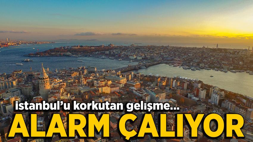 İstanbul için kırmızı alarm çalıyor
