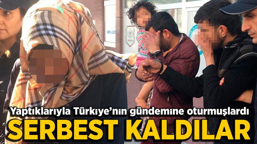 İkiz bebekleri ile 2 yaşındaki kızı terk eden anne - baba serbest!