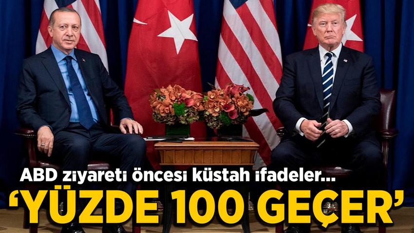 Erdoğan'ın ABD ziyareti öncesi skandal çağrı