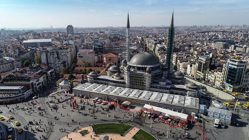 Taksim Camisi 2020'de açılacak