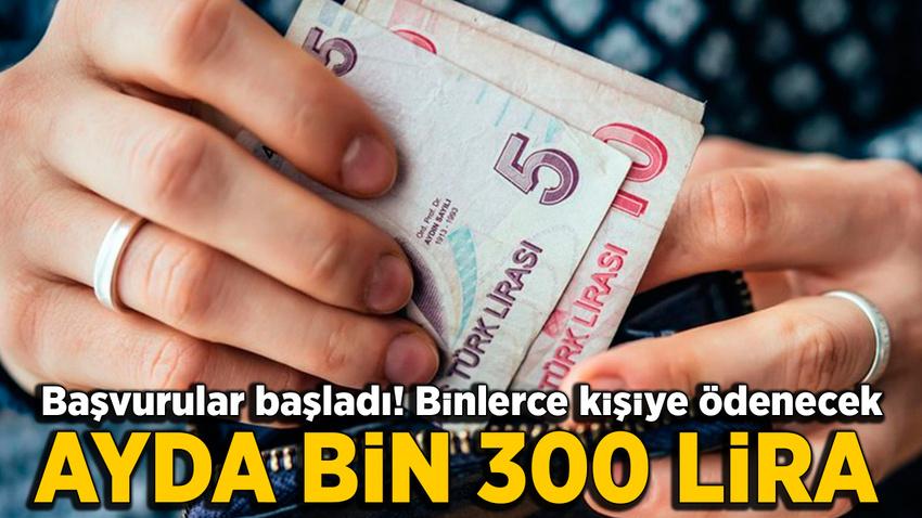 Binlerce kişiye ayda 1300 lira çocuk bakım yardımı verilecek