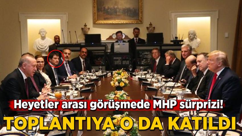 Heyetler arası görüşmede MHP sürprizi!