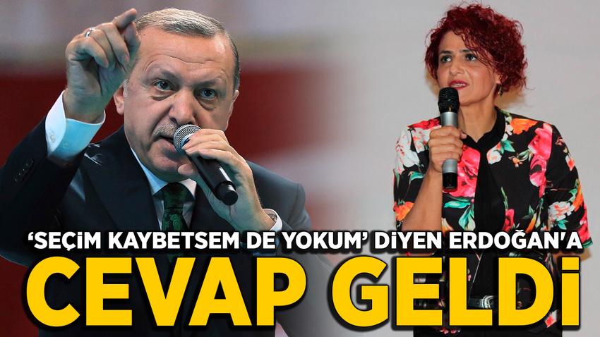"""EYT'lilerden """"Seçim kaybetsem de yokum"""" diyen Erdoğan'a yanıt geldi"""