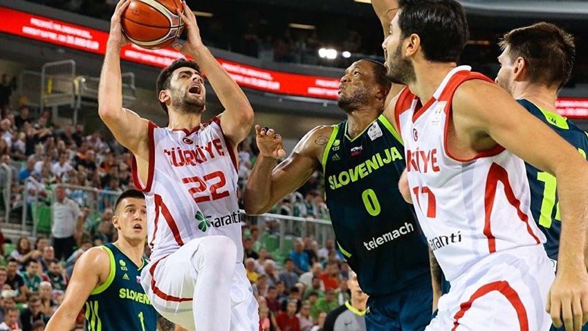 Türkiye A Milli Basketbol Takımı'nın rakipleri belli oldu