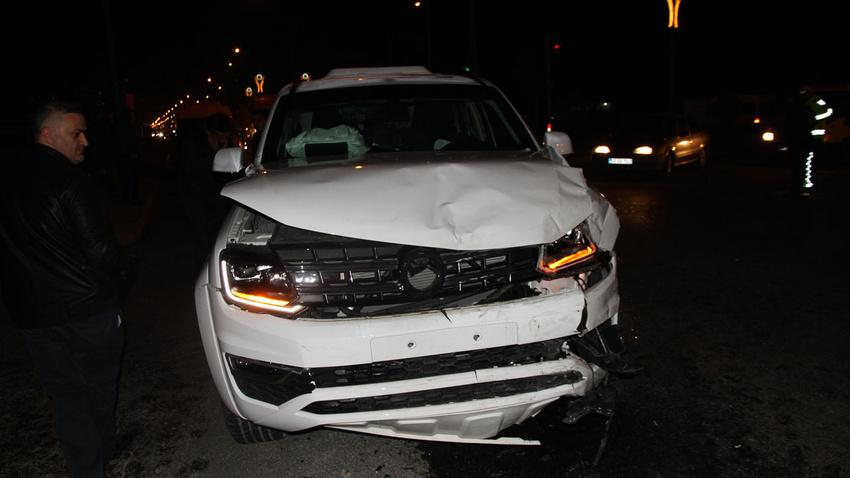 Mardin'de trafik kazası: 2'si polis 7 yaralı