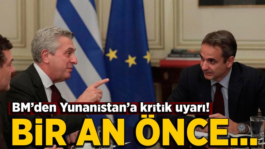BM'den Atina'ya sığınmacı çağrısı