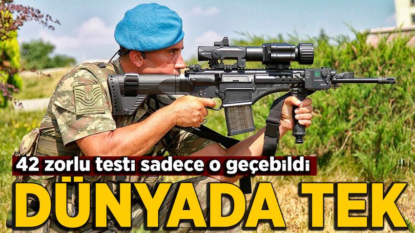 NATO'nun 42 testinden bir tek o geçti