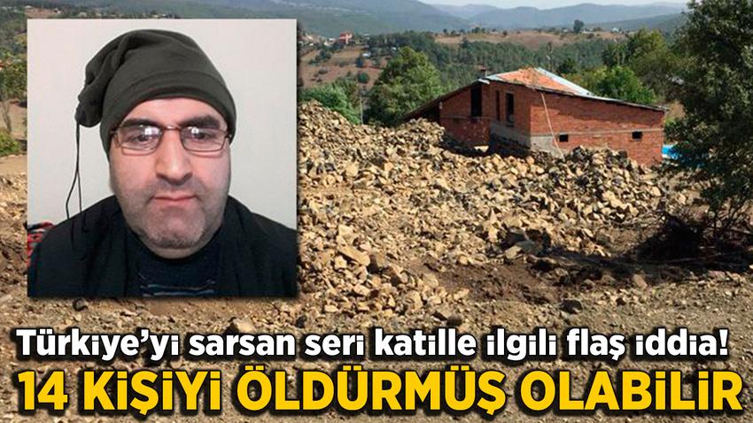 Türkiye'yi sarsan seri katil 14 kişiyi öldürmüş olabilir