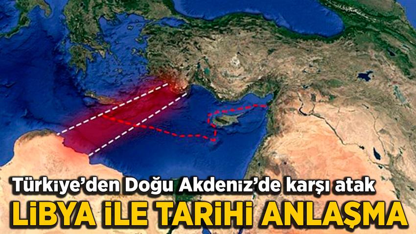 GKRY ve Yunanistan'a şok! Türkiye ile Libya arasında tarihi anlaşma