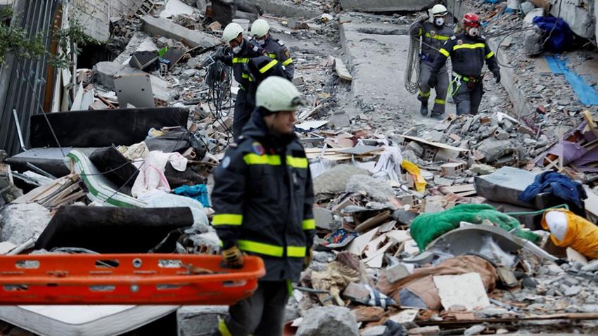 Arnavutluk'taki depremde ölü sayısı 45'e yükseldi