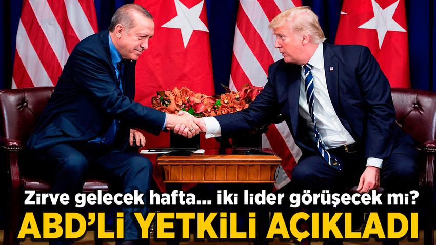 Erdoğan ile Trump NATO zirvesinde görüşecek mi? İşte yanıtı