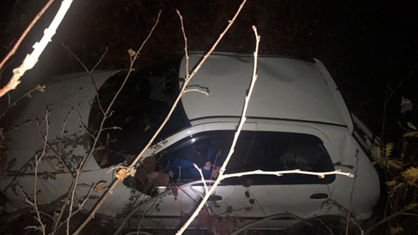 Doğum günü kutlaması dönüşü kaza: 5 yaralı