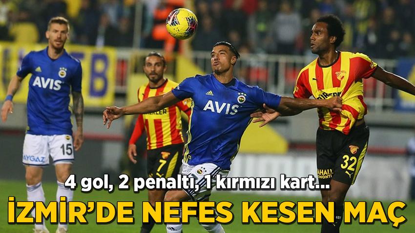 İzmir'de 4 gollü nefes kesen maç
