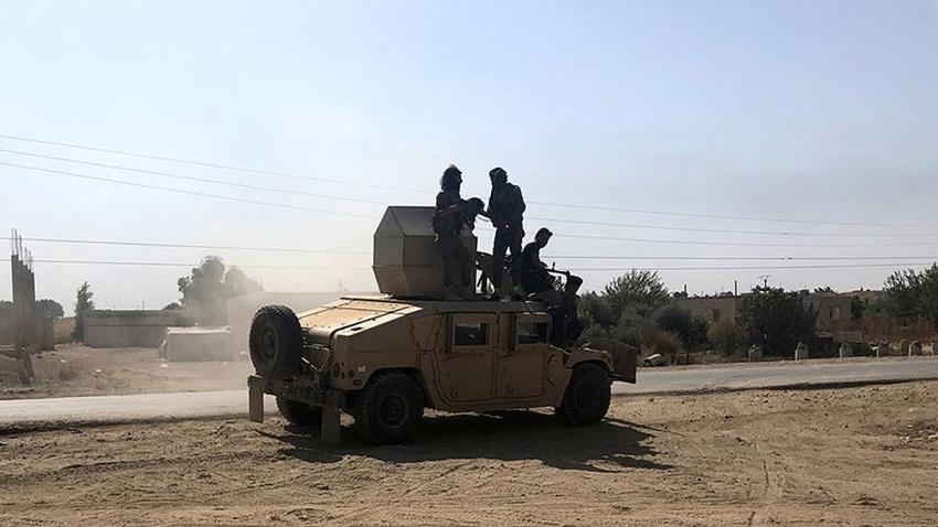 İdlib'de askeri muhaliflerden Esed rejimine operasyon