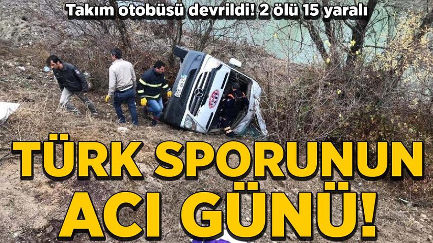 Ordu Gençlerbirliği Kadın Hentbol Takımı kaza yaptı! 2 ölü, 15 yaralı