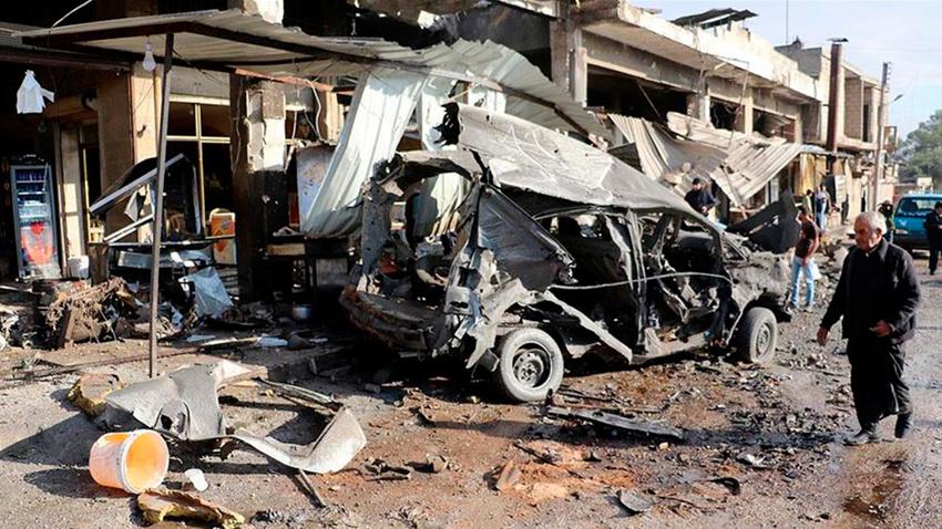Esed rejimi İdlib'e saldırdı: Çok sayıda ölü ve yaralı var