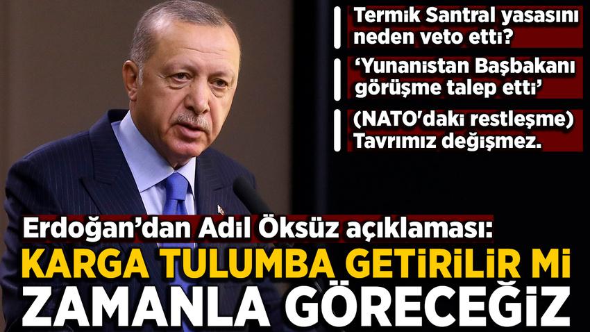 Erdoğan'dan NATO zirvesi öncesi açıklamalar