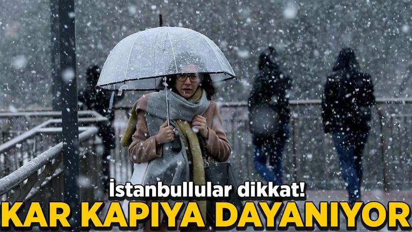 Meteoroloji'den son uyarı: Sağanak, fırtına, kar...