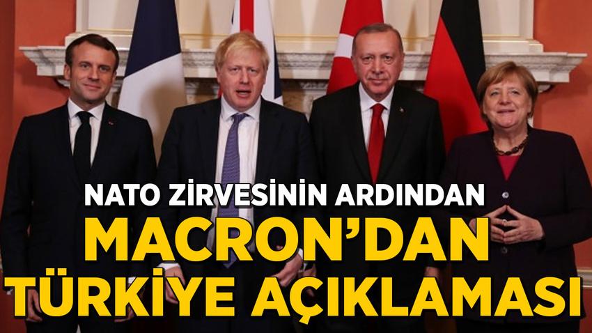 NATO zirvesinin ardından Macron'dan açıklama: Türkiye'ye geleceğiz