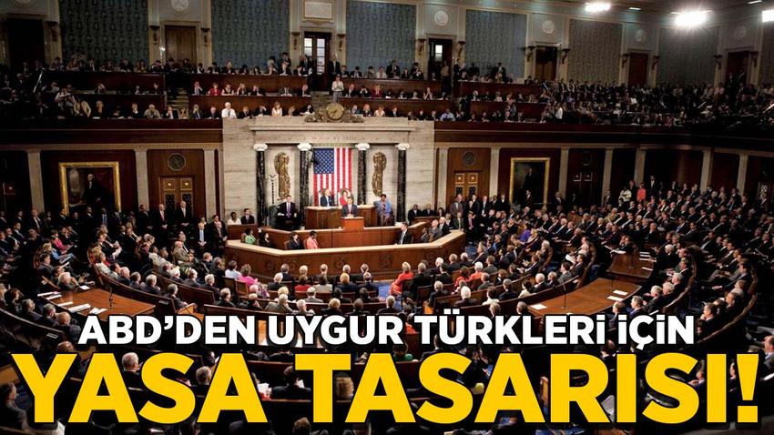 ABD Temsilciler Meclisinden Uygur Türkleri için yasa tasarısı