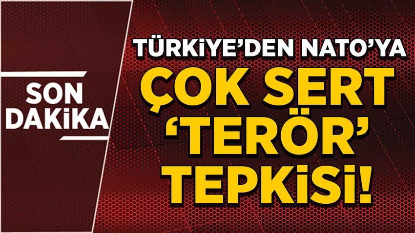 Türkiye'den NATO'ya 'terör' tepkisi